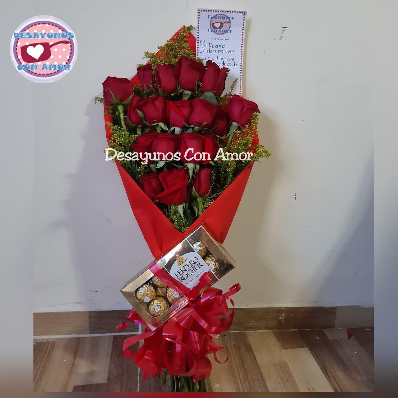 Bouquet De Rosas Floristeria Cali