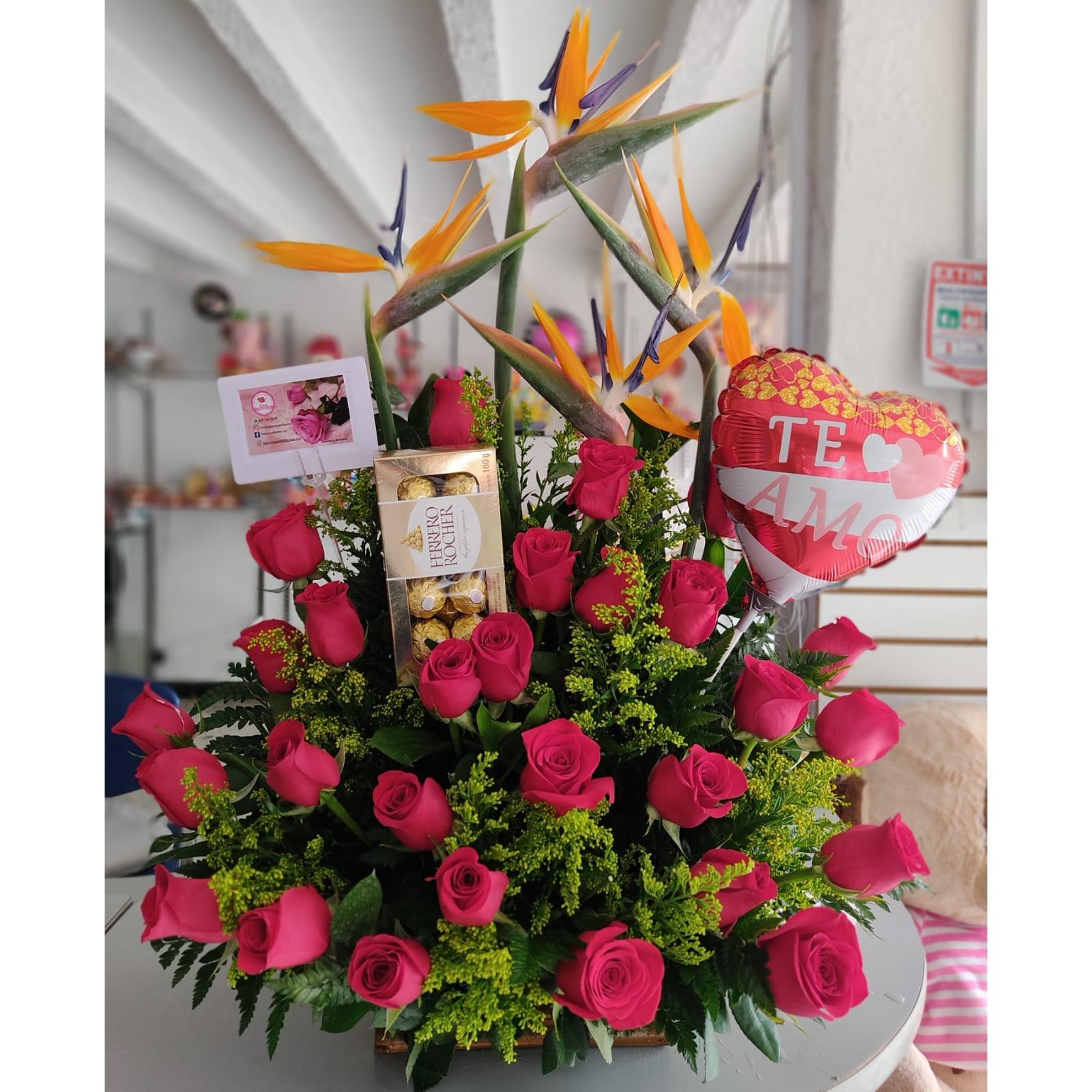 Rosas, Ferreros, Globo y tarjetas