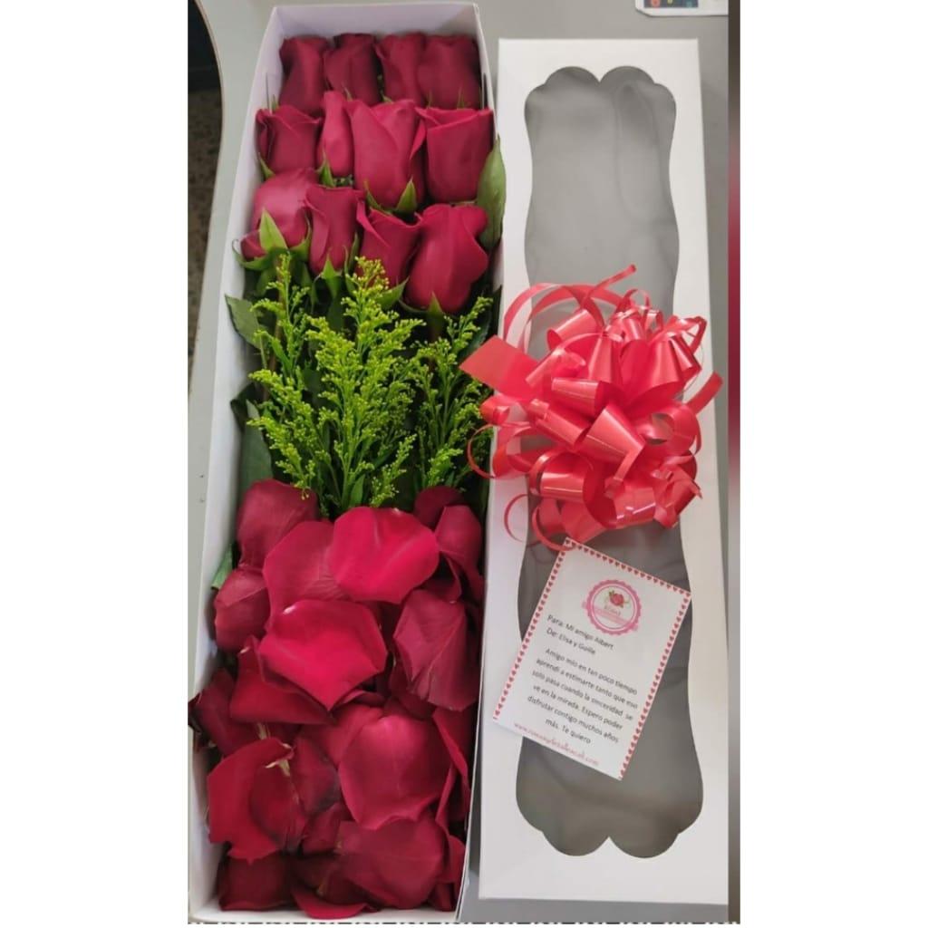 Caja De Rosas- Cali